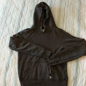 Brown Abercrombie and Fitch hoodie